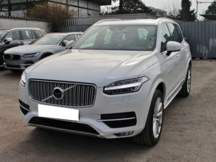 Volvo XC90 D5 ADBLUE AWD 235CH INSCRIPTION LUXE GEARTRONIC 7 PLACES BLANC Occasion - 1