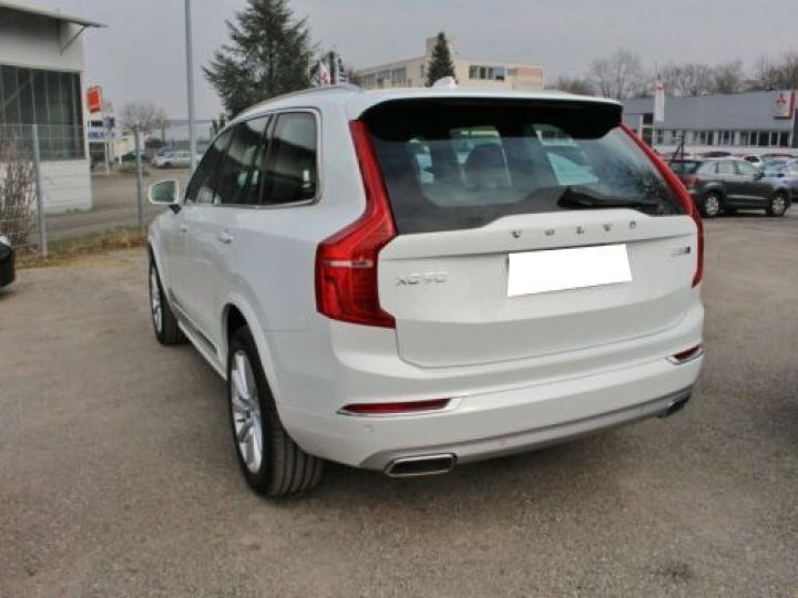 Volvo XC90 D5 ADBLUE AWD 235CH INSCRIPTION LUXE GEARTRONIC 7 PLACES BLANC Occasion - 2
