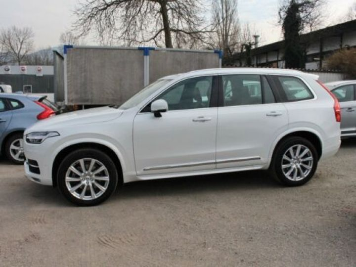 Volvo XC90 D5 ADBLUE AWD 235CH INSCRIPTION LUXE GEARTRONIC 7 PLACES BLANC Occasion - 3