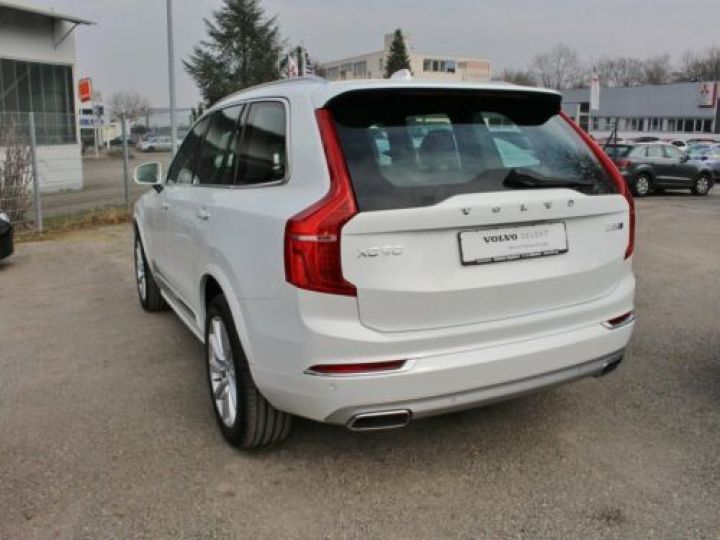 Volvo XC90 D5 ADBLUE AWD 235CH INSCRIPTION LUXE GEARTRONIC 7 PLACES BLANC Occasion - 4