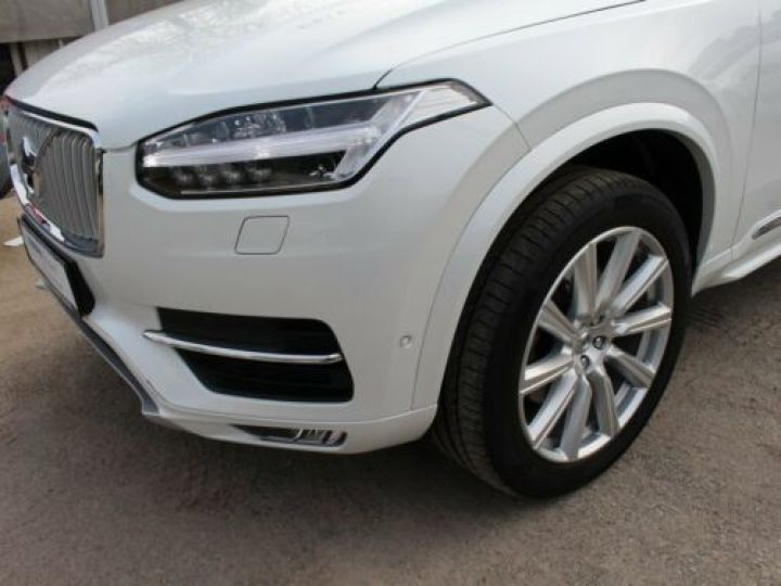 Volvo XC90 D5 ADBLUE AWD 235CH INSCRIPTION LUXE GEARTRONIC 7 PLACES BLANC Occasion - 5