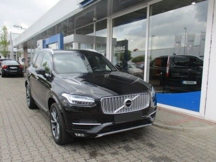 Volvo XC90 D5 AWD 225CH INSCRIPTION GEARTRONIC 5 PLACES NOIR Occasion - 1