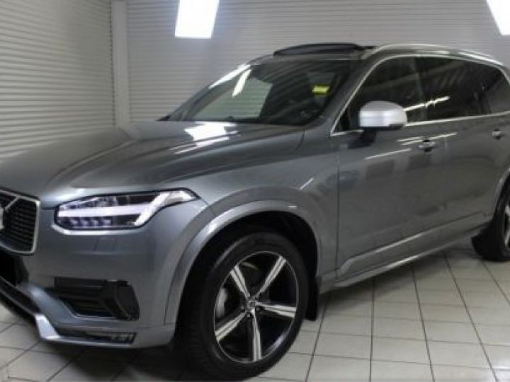Volvo XC90 D5 AWD 235CH R-DESIGN GEARTRONIC GRIS Occasion - 1