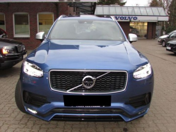 Volvo XC90 T6 AWD 310CH R-DESIGN GEARTRONIC 7 PLACES BLEU Occasion - 2