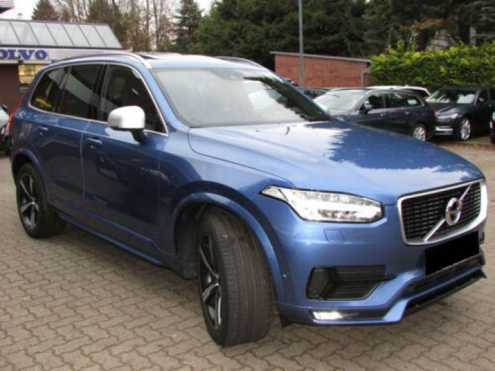 Volvo XC90 T6 AWD 310CH R-DESIGN GEARTRONIC 7 PLACES BLEU Occasion - 3