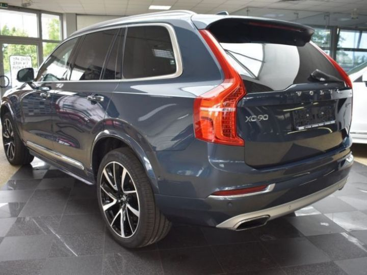 Volvo XC90 T6 AWD 320CH INSCRIPTION LUXE GEARTRONIC 7 PLACES BLEU Occasion - 3