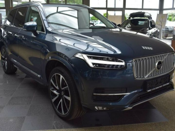 Volvo XC90 T6 AWD 320CH INSCRIPTION LUXE GEARTRONIC 7 PLACES BLEU Occasion - 6