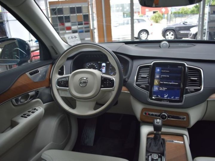Volvo XC90 T6 AWD 320CH INSCRIPTION LUXE GEARTRONIC 7 PLACES BLEU Occasion - 9