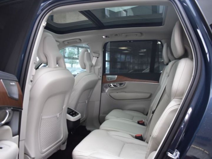 Volvo XC90 T6 AWD 320CH INSCRIPTION LUXE GEARTRONIC 7 PLACES BLEU Occasion - 15