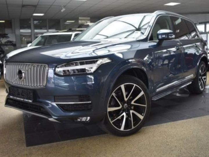 Volvo XC90 T6 AWD 320CH R-DESIGN GEARTRONIC 7 PLACES BLEU Occasion - 1