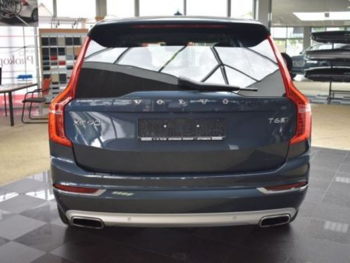 Volvo XC90 T6 AWD 320CH R-DESIGN GEARTRONIC 7 PLACES BLEU Occasion - 4