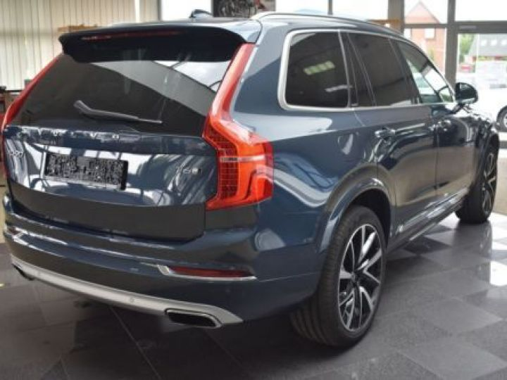 Volvo XC90 T6 AWD 320CH R-DESIGN GEARTRONIC 7 PLACES BLEU Occasion - 5