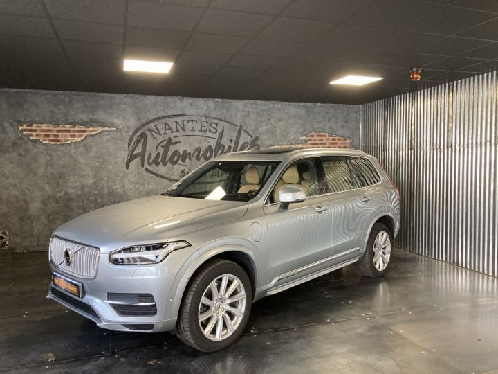 Volvo XC90 T8 TWIN INSCRIPTION LUXE ARGENT METAL  - 1