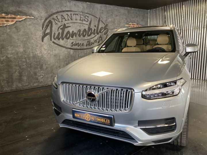 Volvo XC90 T8 TWIN INSCRIPTION LUXE ARGENT METAL  - 2