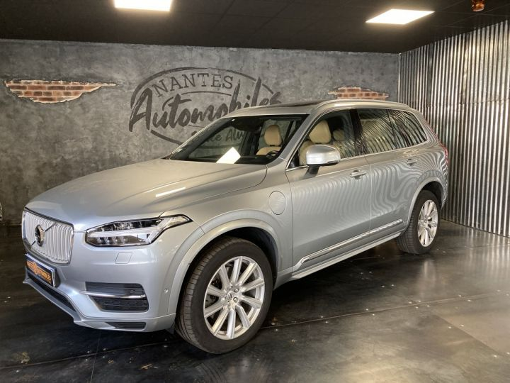 Volvo XC90 T8 TWIN INSCRIPTION LUXE ARGENT METAL  - 3