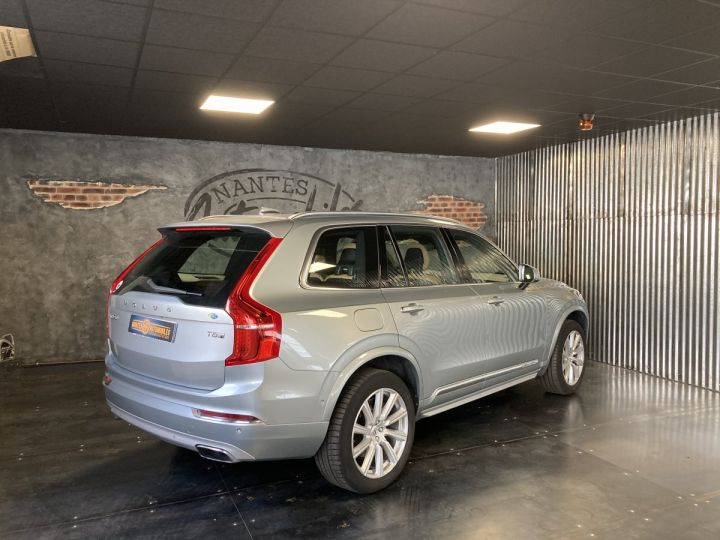 Volvo XC90 T8 TWIN INSCRIPTION LUXE ARGENT METAL  - 4