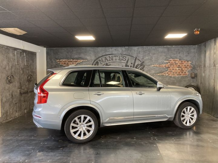Volvo XC90 T8 TWIN INSCRIPTION LUXE ARGENT METAL  - 5