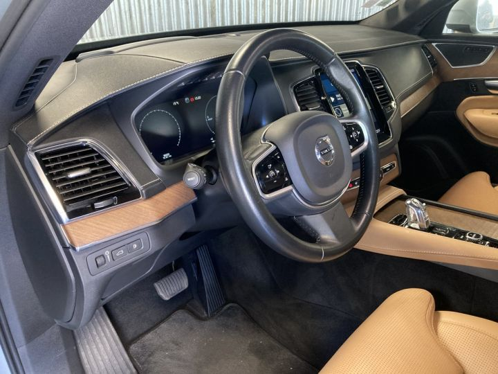 Volvo XC90 T8 TWIN INSCRIPTION LUXE ARGENT METAL  - 6