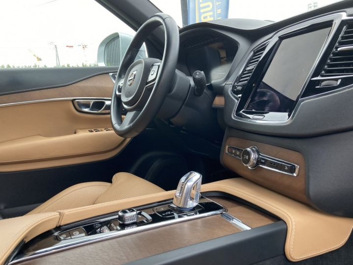 Volvo XC90 T8 TWIN INSCRIPTION LUXE ARGENT METAL  - 7