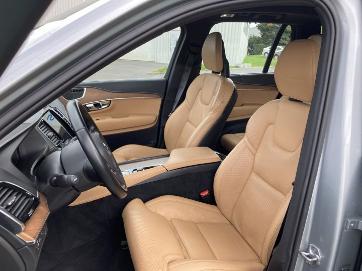 Volvo XC90 T8 TWIN INSCRIPTION LUXE ARGENT METAL  - 8