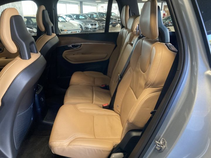 Volvo XC90 T8 TWIN INSCRIPTION LUXE ARGENT METAL  - 9