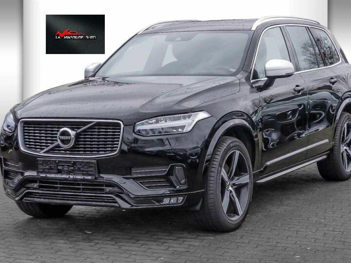 Volvo XC90 XC90 D5 AWD Geartronic R-Design # Navi # Toit Pano # 7 Places  Noir Peinture métallisée - 1