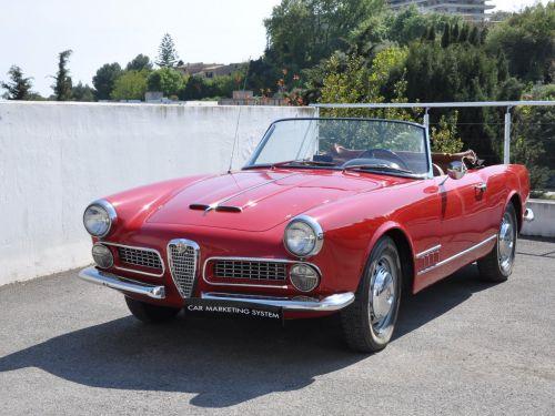 Alfa Romeo 2000 TOURING SPIDER Leasing