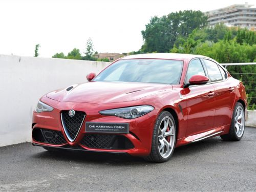 Alfa Romeo Giulia QUADRIFOLGIO VERDE 510CH BVA Leasing
