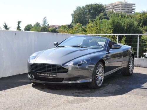 Aston Martin DB9 VOLANTE V12 477ch Touchtronic Leasing