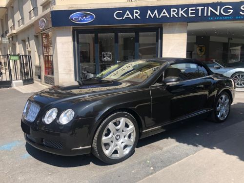 Bentley Continental GTC GT Cabriolet 6.0 W12 A Leasing