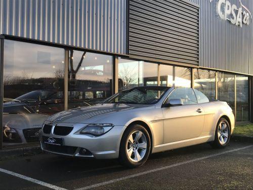 BMW Série 6 BMW SERIE 6 (E64) CABRIOLET 630CIA PACK LUXE