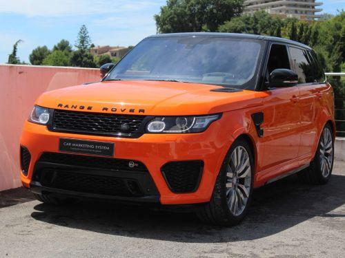 Land Rover Range Rover Sport 5.0 V8 SUPERCHARGED SVR Leasing