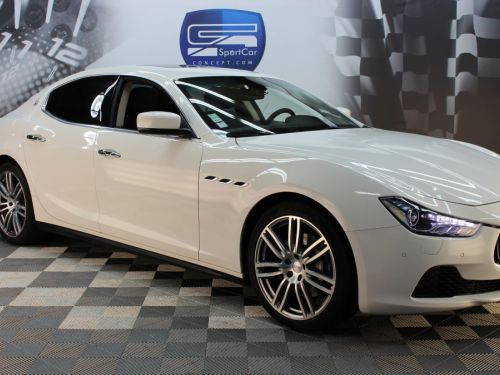 Maserati Ghibli 3.0 V6 DIESEL 275CH / Pack Business / Pack Confort / Pack Hiver / Pack Premium