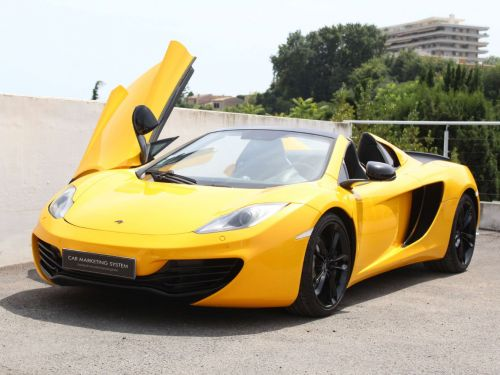 McLaren MP4-12C SPIDER 3.8 V8 TWIN-TURBO 625 Leasing