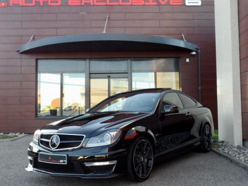 Mercedes Classe C C 63 AMG COUPE PACK EDITION 507 FULL OPTIONS