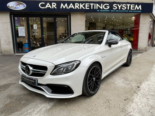 Mercedes Classe C IV (2) CABRIOLET AMG 63 S Leasing