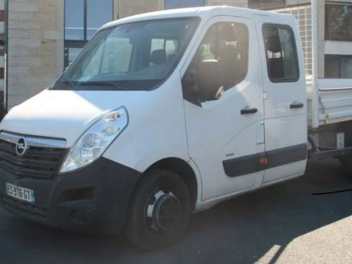 Opel Movano benne double cabine 145cv 2017