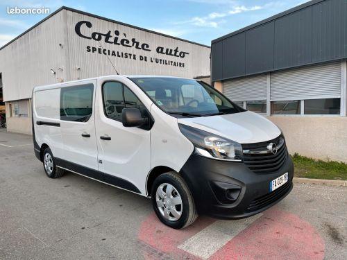 Opel Vivaro 6 places cabine approfondie 2018