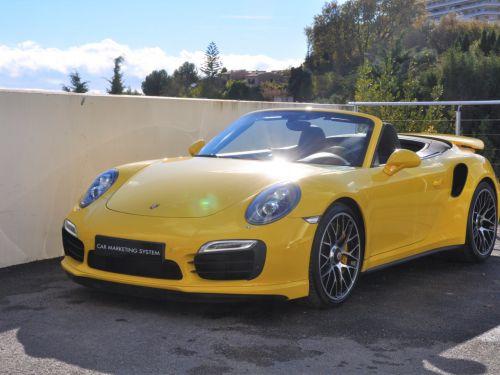 Porsche 911 991 TURBO S CABRIOLET 560CH Leasing