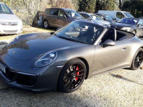 Porsche 911 TYPE 991 CABRIOLET 991(2) CABRIOLET 3.0 450 CARRERA 4 GTS PDK