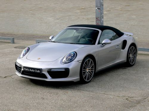 Porsche 991 Turbo S Cabriolet PDK 580ch Phase 2  Occasion