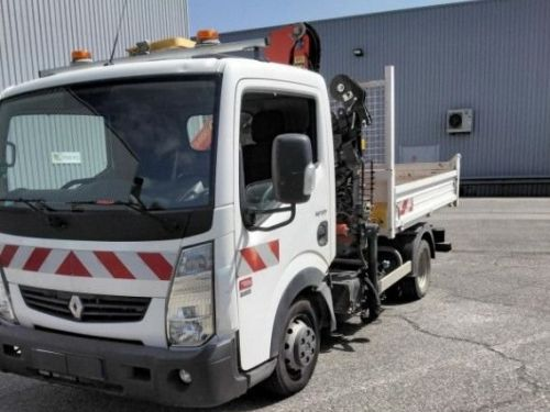 Renault Maxity benne grue palfinger pk3400 54.000km