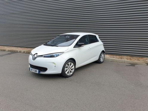 Renault Zoe intens charge rapide bva