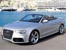 Audi RS5 CABRIOLET 4.2 V8 FSI QUATTRO S TRONIC  Argent Métal (Prisma silver)  - 1