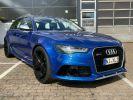 Audi RS6 Bleu  - 1