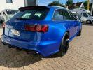 Audi RS6 Bleu  - 12