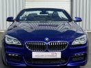 BMW Série 6 640 i CABRIOLET M-SPORT 320ch (F12) BVA8 BLEU INDIVIDUAL  - 2
