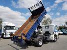 Camion porteur Scania P Benne arrière 93 M 210 BLANC - BLEU Occasion - 3