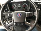 Camion porteur Scania Bibenne / Tribenne 410 8X4 BI BENNE BLANC - 15