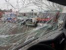 Camion porteur Renault Premium Citerne alimentaire 370dci.19D - Cabine accidentée VERT - GRIS - 16
